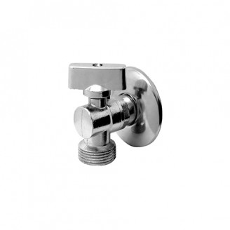 Registro Esfera Metal para Máquina Lavar - 1/2 * 3/4