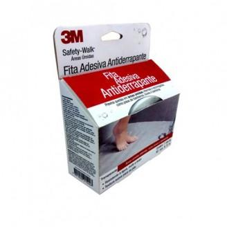 Fita/Lixa Antiderrapante Safety Walk para Áreas Úmidas (Banheiro) 3M