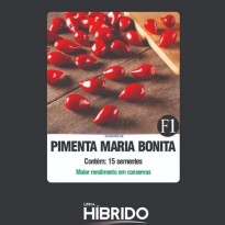 Semente de Pimenta Bico Maria Bonita Feltrin Sementes