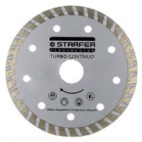 "Disco Diamantado Turbo Contínuo 7"" Starfer"